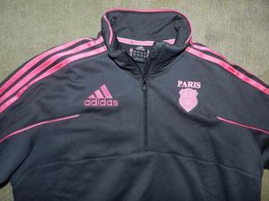 Buzo Campera Adidas Rugby Stade Francais Talle M Impecable
