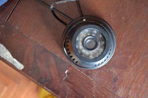 Cámara de seguridad - Graba en memoria sd - Se conecta a