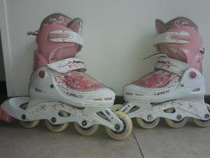 Rollers para nena talle
