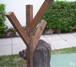 Perchero pared laqueado capital federal y gba posot class - Perchero madera pared ...