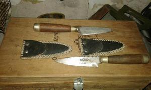 Cuchillos nuevos caseros