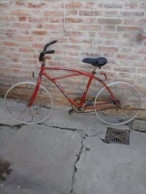 Vendo bici playera, rodado 26.Casi completa,