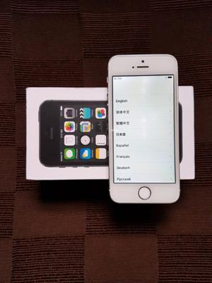 IPHONE 5S - 32 GB - 4G LTE - LIBRE