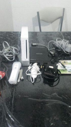 Nintendo Wii Usada Chipeada + Juegos + Guitarra