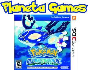 Pokemon Alpha Sapphire Nintendo 3ds Nuevos Caja Sellada