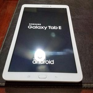 Tablet Samsung Galaxy Tab E Impec. Vidrio templado