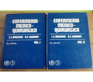Vendo libros Enfermería Médico-Quirúrgica Vol 1 y 2