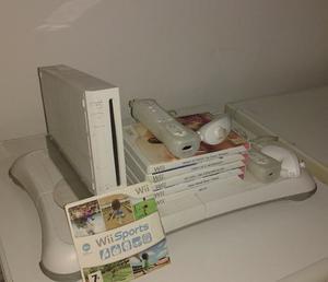 Wii + Wii Fit + 7 Juegos Originales + 2 Nunchuck + 2 Control