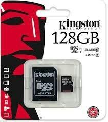 Memoria Kingston Micro Sd 128 Gb Clase 10 Ultra 48mb/s Speed