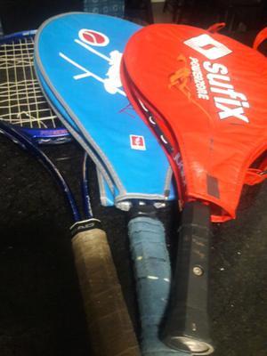 Raquetas de tenis para principiantes (3) usadas
