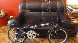 Vendo bicicleta como nueva + casco en buen estado soy de