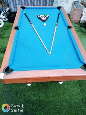 Vendo mesa de pool o permuto por casco en buen estado