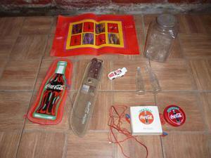 Hermosa Coleccion De Coca Cola -auto,frasco,individual,radio