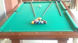 Mesa de Pool profesional, de 1,40 por 2,40 mts.