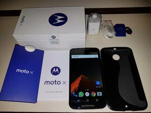 Motorola Moto X 2 libre, 4g, 32gb, más funda