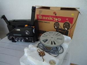 Proyector 8 Mm Sankyo japan, Dual, MUY POCO USO