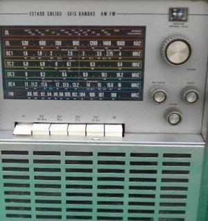 Radio Noblex 7 mares AM FM.