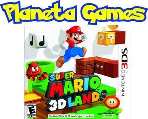 Super Maro 3d Land Nintendo 3ds Nuevos Caja Cerrada