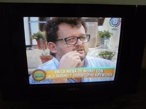 "TV 21"" PANTALLA PLANA SLIM GLOBAL HOME"