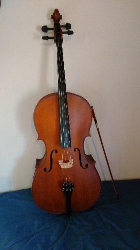 Violoncello Stradella 4/4 Macizo Precio Charlable.