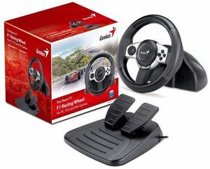 Volante Game Wheel Genius Trio Racer F1 Pc/ps3/wii