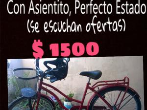 vendo bici de mujer rodado 26