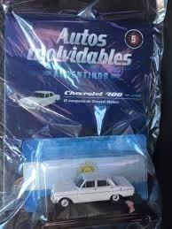 Auto Chevrolet 400 Autos Inolvidables Coleccion 1/43