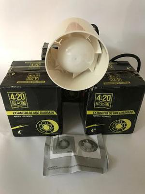 Extractor De Aire 4 Indoor¨ - Importado (4:20)