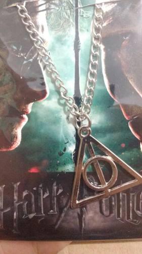 Harry Potter Collar De Las Reliquias De La Muerte