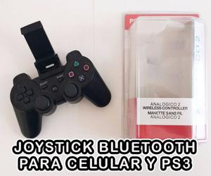 Joystick Bluetooth con soporte para celular NQN30