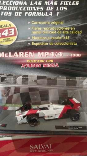 Mclaren Honda Ayrton Senna (coleccion Formula 1 Salvat)
