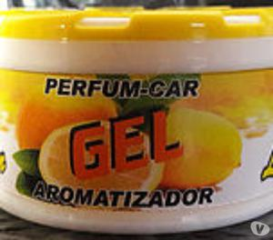 Perfume gel para auto y ambientes