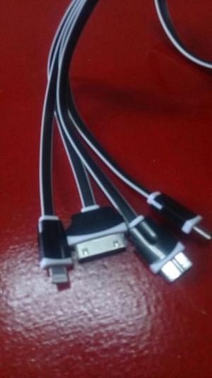 Cable de datos para iphone 5, iphone 4, samsung tab 3, micro