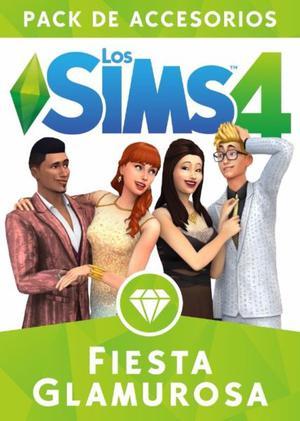 Los Sims 4 Fiesta Glamorosa Expansion Juego Pc Digital Local