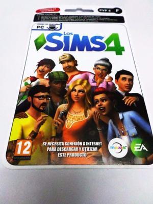 Los Sims 4 Version Digital Para Pc