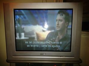 Televisor TV pantalla plana 29 pulgadas Firstline c/ control