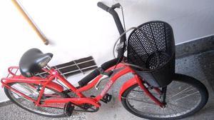 Bicicleta playera mujer