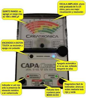 Capachek Mictron nuevo con su estuche !!!