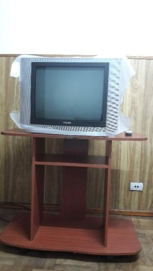 TV 21' + MESA DE TV