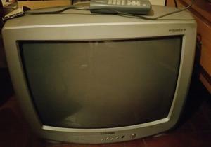 Vendo tv 21 pulgadas con control remoto impecable.