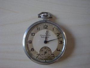 Antiguo Reloj De Bolsillo Cronometro Rothmund