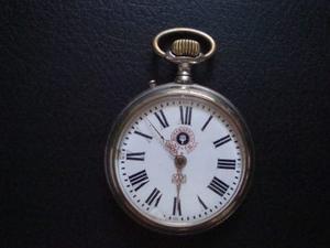 Antiguo Reloj De Bolsillo Rosskopf Patent