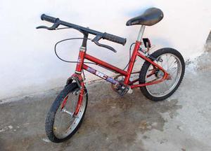Bicicleta Rodado 14 Usada Nena