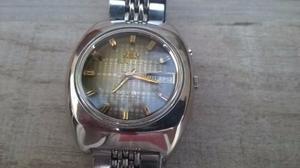 Impecable Reloj Orient Antiguo Doble Fechador. Funcionando