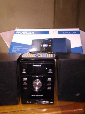 Microcomponente noblex completo y en caja