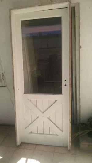 Puerta cedro maciza $