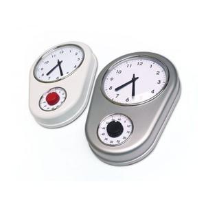 Reloj De Pared Con Timer. La Aldea.