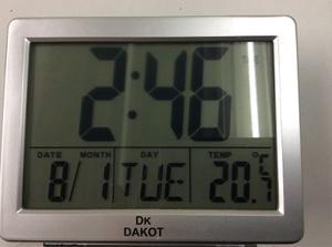 Reloj Despertador Digital Con Luz!! Fecha -temperatura-rep