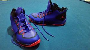 Zapatillas de basquet basket Jordan Violeta NUEVAS sin uso
