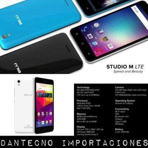 BLU STUDIO M LTE 8GB // NUEVOS EN CAJA CERRADA